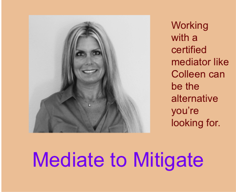 Divorce Mediator - Mediate to Mitigate