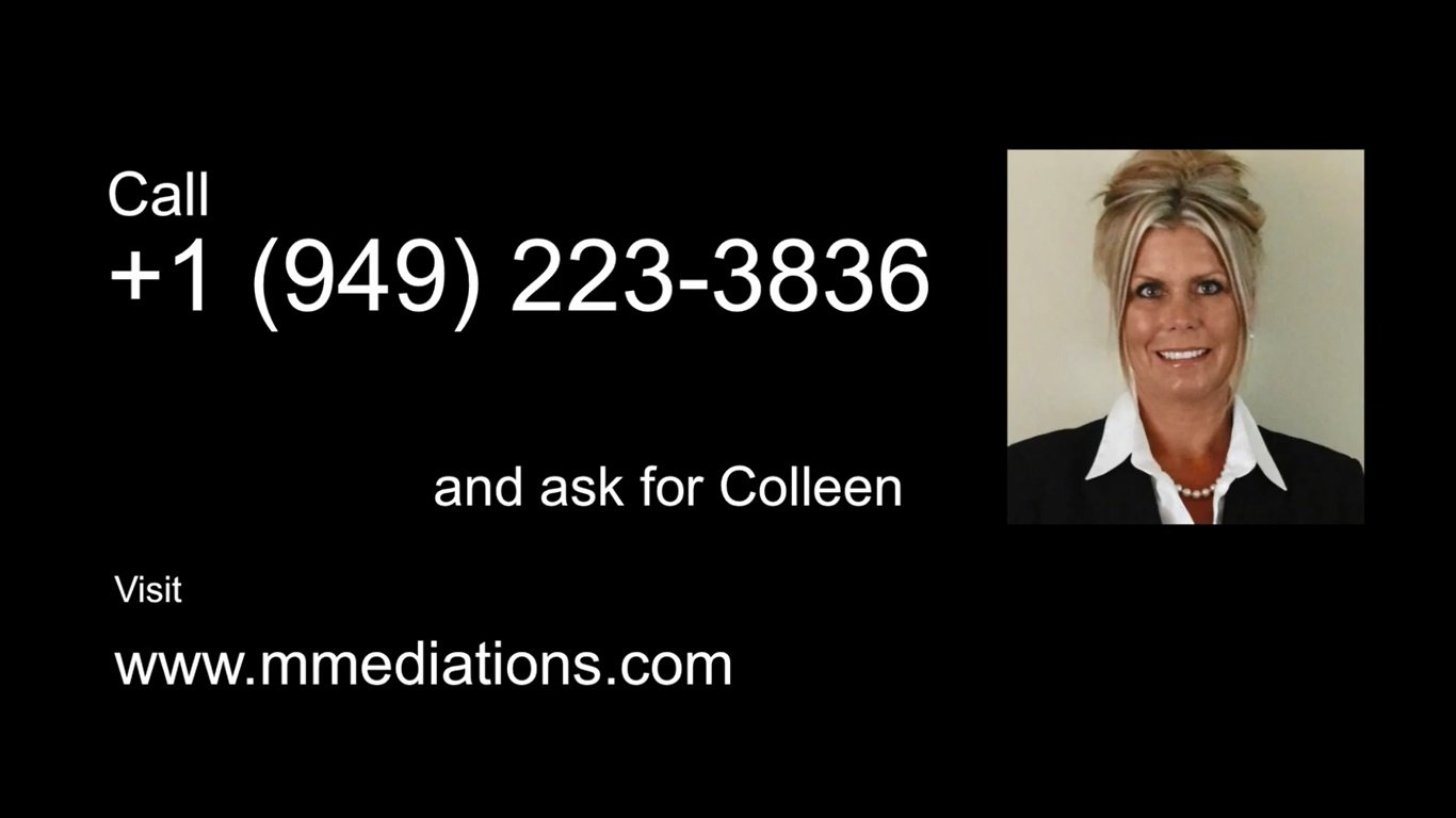 Find McNamee Mediations on Google + by clicking here!